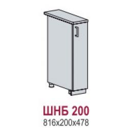 Вирджиния шкаф нижний бутылочница 200