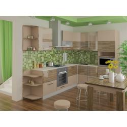 Мебель для кухни Диана (рафия/имбирь)
