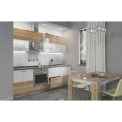 Мебель для кухни Диана (дуб сонома/белый)