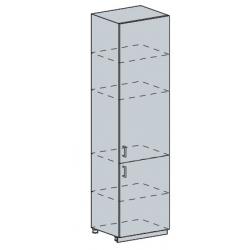 Вирджиния шкаф пенал глухой 600