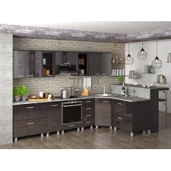 Мебель для кухни Наталья (дуб белфорт тем)