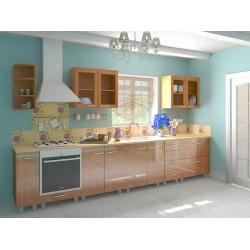 Мебель для кухни Наталья (ольха планка)