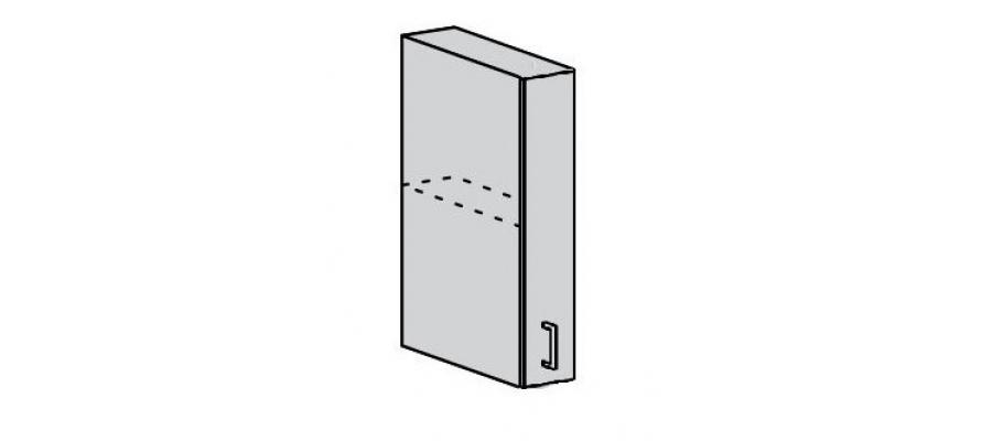 Валерия шкаф верхний 200 закрытый