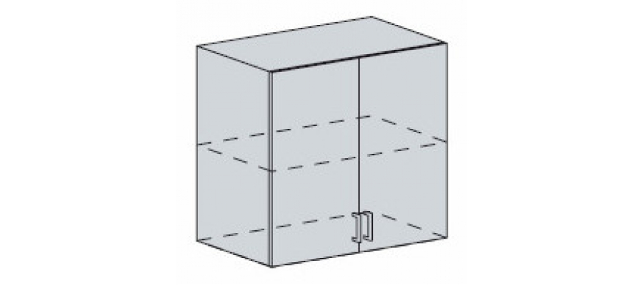 Валерия шкаф верхний 700
