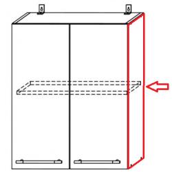 Капри фасад торцевой для верхних модулей