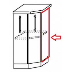 Капри фасад торцевой для торцевого нижнего шкафа
