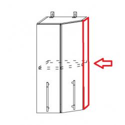 Капри фасад торцевой для торцевого верхнего шкафа