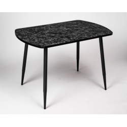Стол кухонный кастилло темный опоры конус 1100
