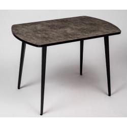 Стол кухонный бетон опоры трио 1100