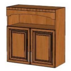 КМ Деметра шкаф верхний двухдверный с нишей 800 (№15)