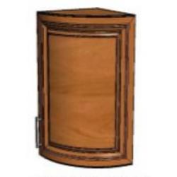 КМ Деметра шкаф верхний радиусный 340 (№4)