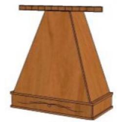 КМ Деметра шкаф верхний купольный под вытяжку (№19)