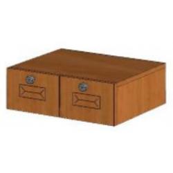 КМ Деметра шкаф верхний подвесной с ящиками 450 (№20)