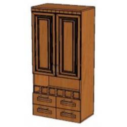 КМ Деметра шкаф верхний с ящиками 600 (№2)