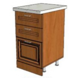 КМ Деметра шкаф нижний 3 ящика 450 (№23)