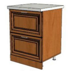 КМ Деметра шкаф нижний 2 ящика 600 (№21)