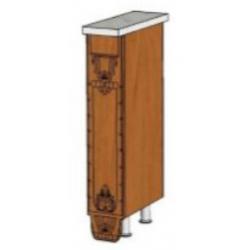 КМ Деметра шкаф нижний бутылочница ППУ 150 (№34)