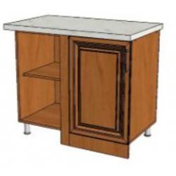 КМ Деметра шкаф нижний угловой прямоугольный 1000 (№26)