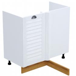 Кантри шкаф нижний угловой левый под мойку 1000