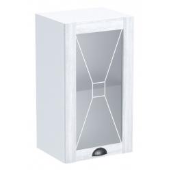 Кантри шкаф верхний со стеклом ШСТ-40