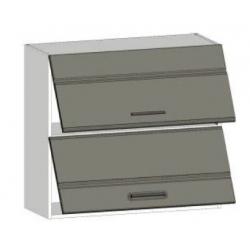 КМ Канзас шкаф верхний двойной горизонтальный 800