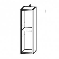 Капля глянец шкаф верхний 200