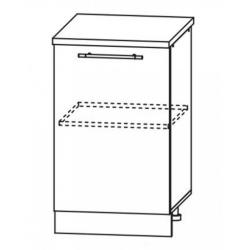 Капля глянец шкаф нижний 500