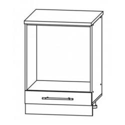 Капля глянец шкаф нижний под духовку 600