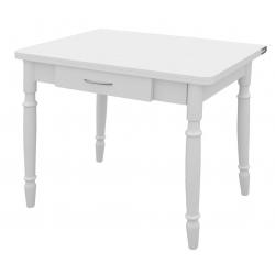 Ломберный стол раздвижной с ящиком 600 (1200)