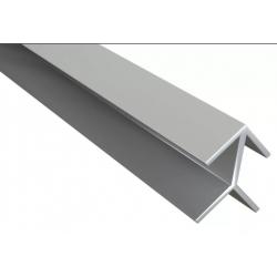 Планка угловая ёлочка для фартука 6х600 мм