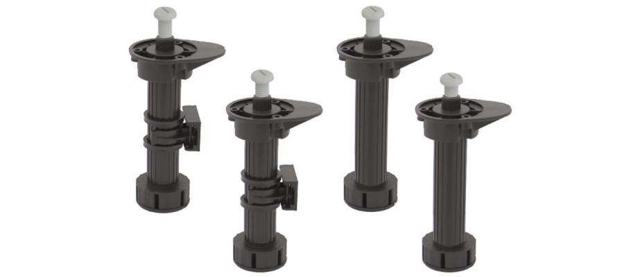 Опоры цокольные h-150 мм (комплект 4 шт)