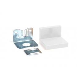 SL01.150.14 Навес для шкафов до 70 кг с заглушкой, белый