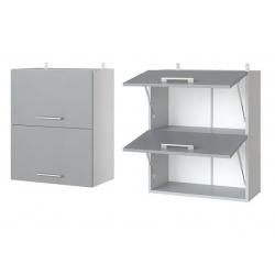 Парма шкаф верхний двойной горизонтальный 600