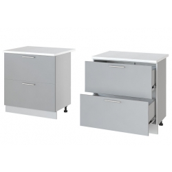 Парма шкаф нижний 2 ящика 800