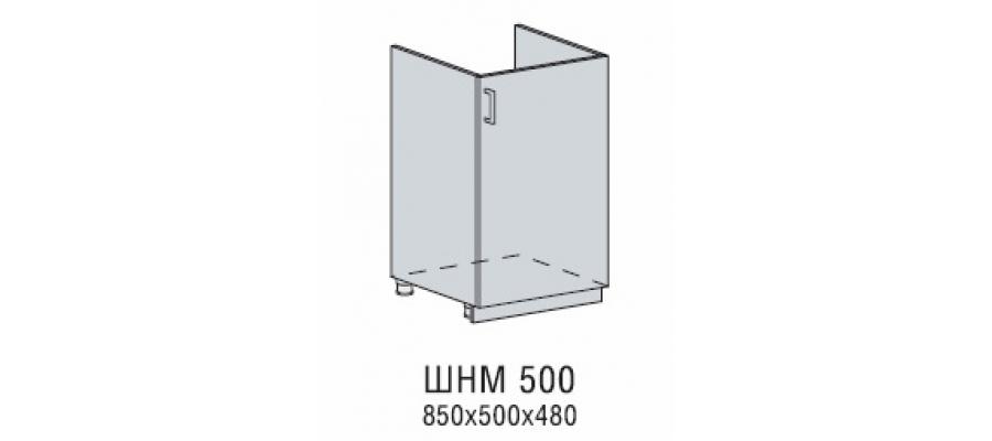 Валерия шкаф нижний под мойку 500