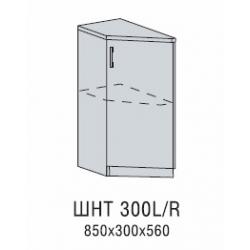 Вирджиния шкаф нижний торцевой левый 300