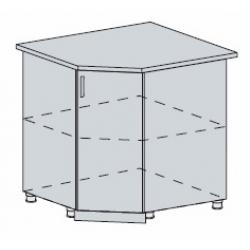 Вирджиния шкаф нижний угловой 890x890