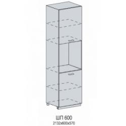 Вирджиния шкаф нижний пенал под духовку 600