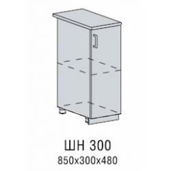 Валерия шкаф нижний 300