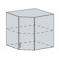 Вирджиния шкаф верхний угловой 590