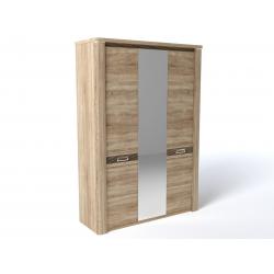 Шкаф 3-х дверный Магнолия Бардолино