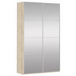 Шкаф-купе Прайм 2-х створчатый с 2-я зеркалами 1400