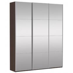 Шкаф-купе Прайм 3-х створчатый с 3-я зеркалами 2100