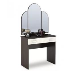 Бася стол туалетный с зеркалом 900