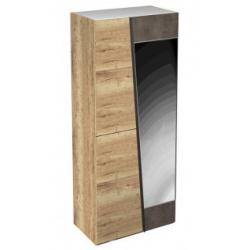 Стреза шкаф 2-х дверный с зеркалом