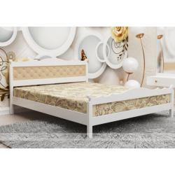 Кровать массив белая B-1/B 1600