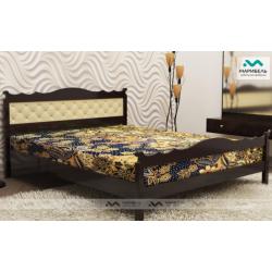 Кровать массив орех темный B-1/B 1600