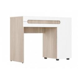 Палермо-3 стол туалетный СТ-025 Ясень светлый / белый глянец 1000