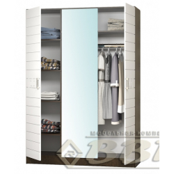 Афина шкаф 3-х створчатый 1500