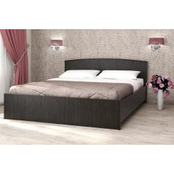 Кровать Кэт-032 венге с настилом 1600